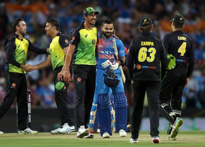India Vs Aus >> PHOTOS: India vs Australia 3rd T20I: Virat Kohli, Krunal