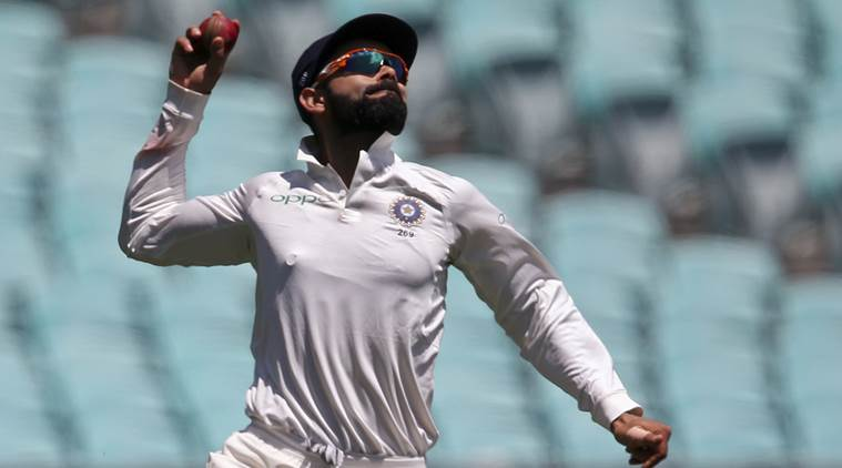 Virat Kohli Plays a Deadly Bouncer from Mohammed Shami