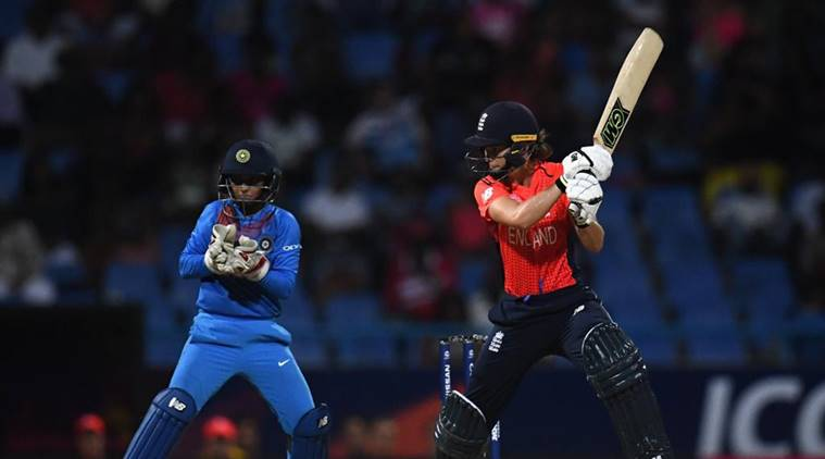 India women's cricket team against England at the ICC Women's World T20
