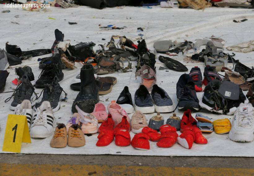 Indonesia plane crash: Shoes, wallets, backpacks retrieved from sea; forensic dept inspects belongings