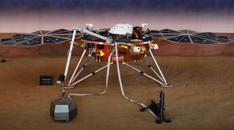 In NASA mission, InSight on Marsquakes, eyes in deep space