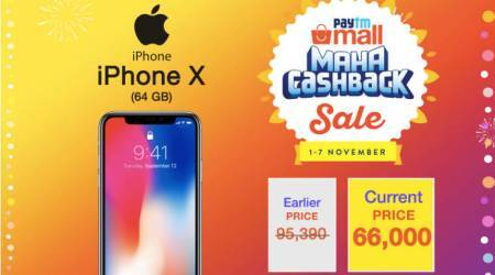 iPhone X, Apple iPhone X, iPhone X discount, Paytm mall, Paytm mall iPhone X discount, iPhone X price in India, Apple iPhone X features, Apple iPhone X review, Apple iPhone X specifications
