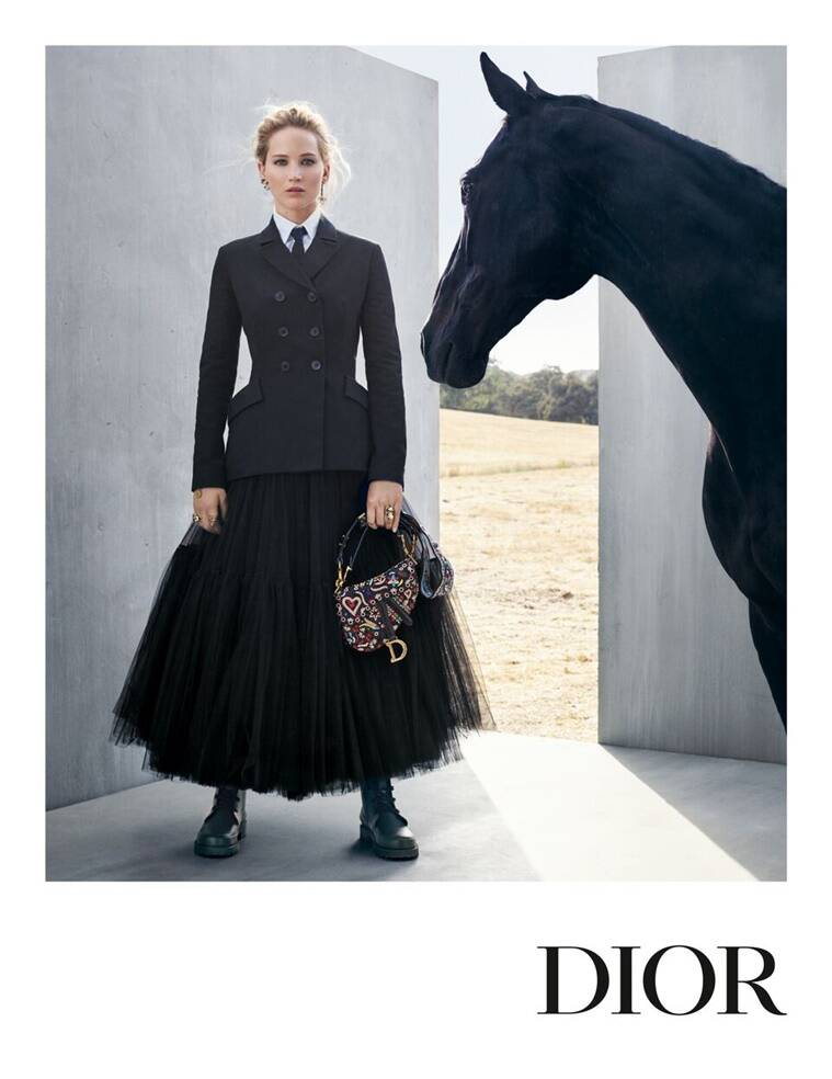 Jennifer Lawrence, Jennifer Lawrence dior ad, dior ad, mexican culture, traditional women riders of Mexico, history of women riders, indian express, indian express news