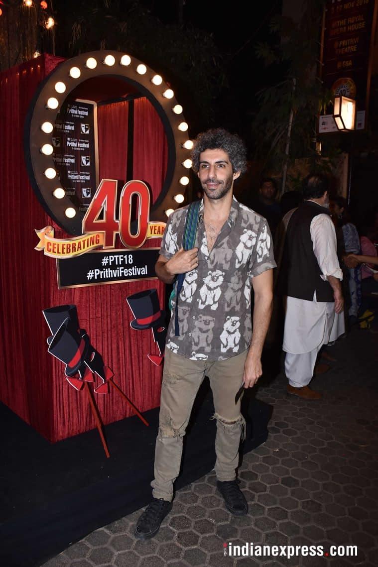 jim sarbh at prithvi theatre anniversary