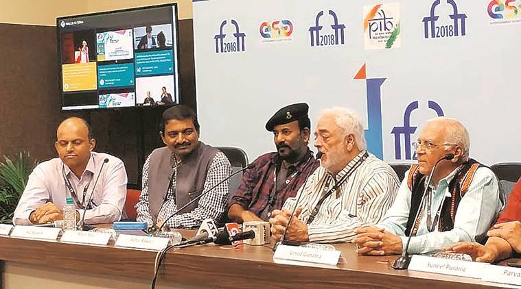 IFFI, non-feature film jury, anti-national movies, members of non-feature film jury, Indian Express