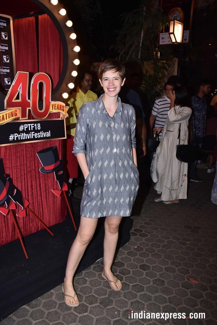 kalki koechlin at prithvi theatre anniversary