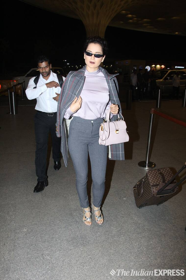 kangana ranaut, kajol, aditi rao hydari, kangana ranaut fashion, kajol fashion, aditi rao hydari fashion, kangana ranaut latest news, kajol latest news, aditi rao hydari latest pics, kangana ranaut airport fashion, kajol airport fashion, aditi rao hydari airport fashion, celeb fashion, bollywood fashion, indian express, indian express news