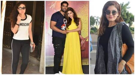 Celeb spotting: Kareena Kapoor, Urmila Matondkar, Raveena Tandon and others