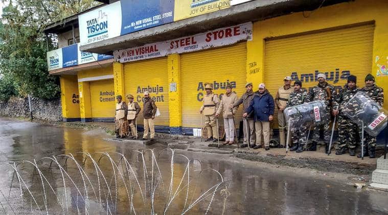 Kishtwar, Anil Parihar killing, BJP leader Kishtwar killed, Kishtwar district, Jammu Kashmir news, Indian express, latest news