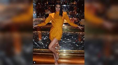 dundasworld, Kendall Jenner, Kendall Jenner Optical Illusion Shoes