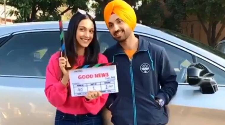 Kiara Advani Diljit Dosanjh start shooting for Good News