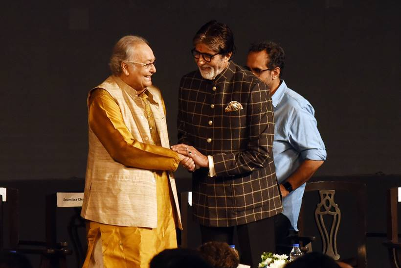 Amitabh Bachchan, Soumitra Chatterjee