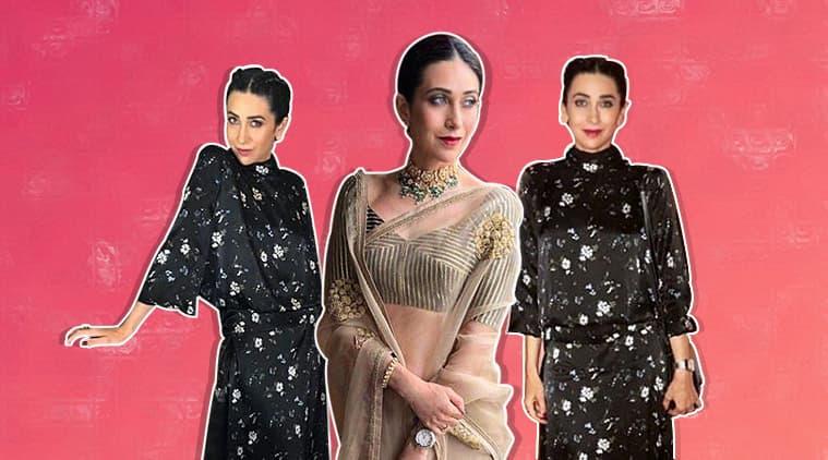 karisma kapoor, karisma kapoor sabyasachi sari, karisma kapoor sari, karisma kapoor latest look, karisma kapoor instagram, indian express, indian express news