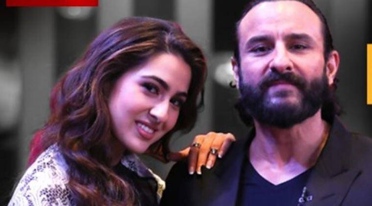 sara ali khan and saif ali khan on koffee with karan 6 with karan johar
