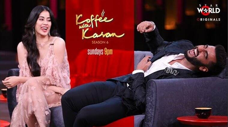 koffee with karan season 6 jahnvi kapoor and arjun kapoor