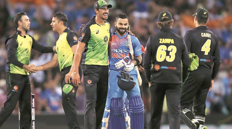 Virat Kohli, India vs Australia, T20 series, T20 series cyceta, T20 international, news from cricket, latest news from cricket, sports news, Indian Express