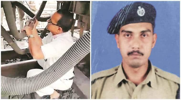 Kolkata: RPF constable saves guard repairing brake pipe from being crushed under train
