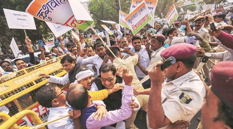 Bihar: Upendra Kushwaha supporters protest against Nitish Kumar, many injured in police lathicharge