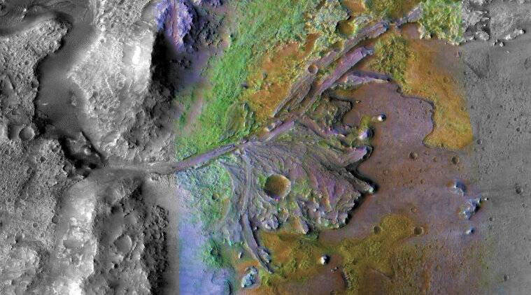 Mars, Planetary science, Exploration of Mars, Discovery and exploration of the Solar System, Jezero, Lakes on Mars, Compact Reconnaissance Imaging Spectrometer for Mars, Thomas Zurbuchen, associate administrator, Jezero Crater, National Aeronautics and Space