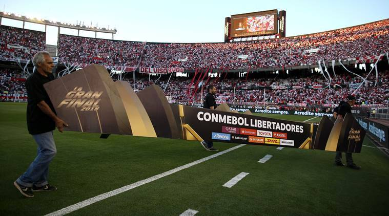 River-Boca Copa Libertadores final called off again
