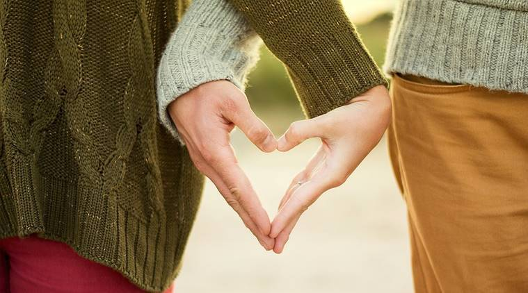 health benefits of falling in love, falling in love benefits, blood pressure treatments, anxiety, stress, love helps to treat stress, love treats allergies, indian express, indian express news