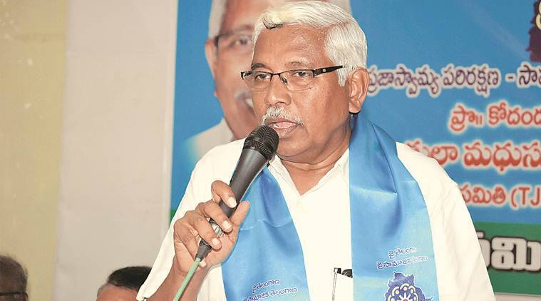 Hyderabad: Former Osmania varsity professor scripting an alliance to take on TRS