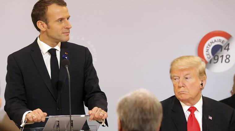 Trump criticises Macron again over European defence remarks