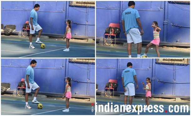 Mahesh Bhupathi daughter Saira Bhupathi