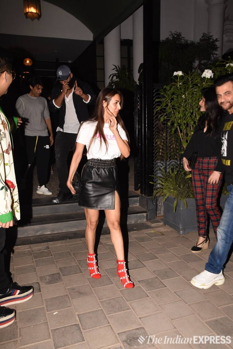 malaika arora, malaika arora arjun kapoor, arjun kapoor, karan johar, malaika arora fashion, malaika arora latest news, malaika arora latest pics, malaika arora updates, celeb fashion, bollywood fashion, indian express, indian express news