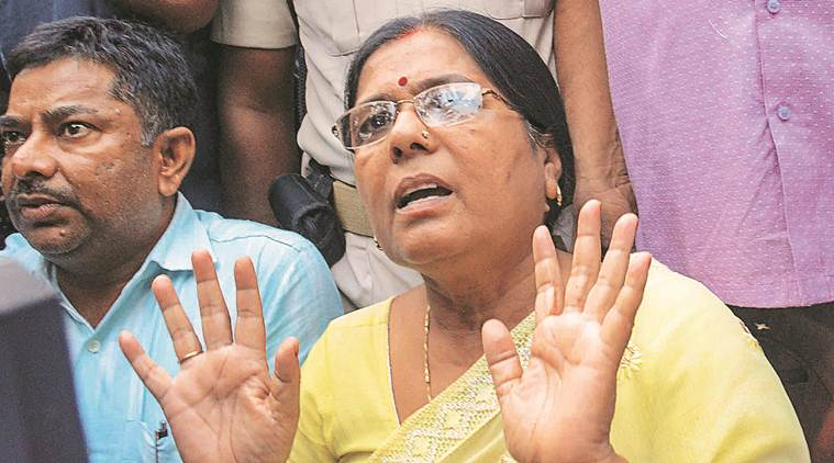 Ex-Bihar minister Manju Verma surrenders in Arms Act case