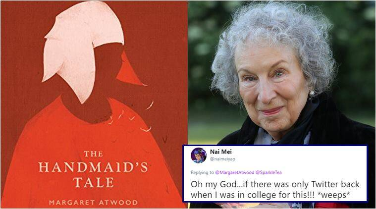 margaret atwood, the handmaids tale, margaret atwood reply to student, student ask for help get reply from book author, viral news, good news, books news, indian express