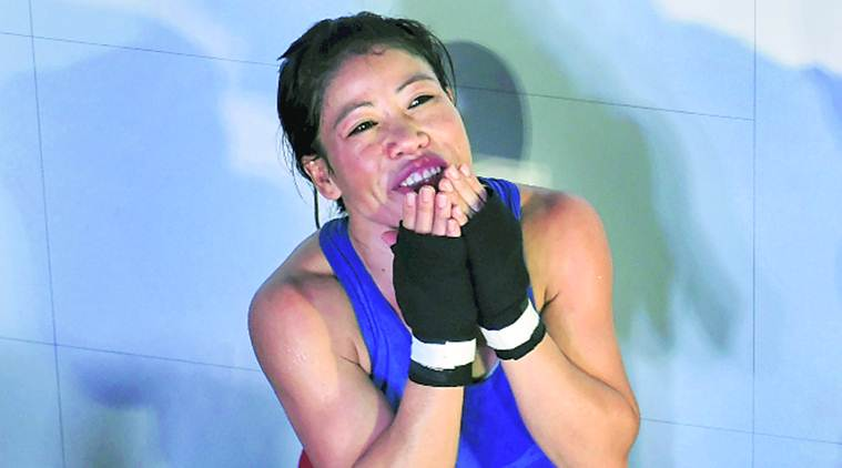 Child's play for Mary Kom