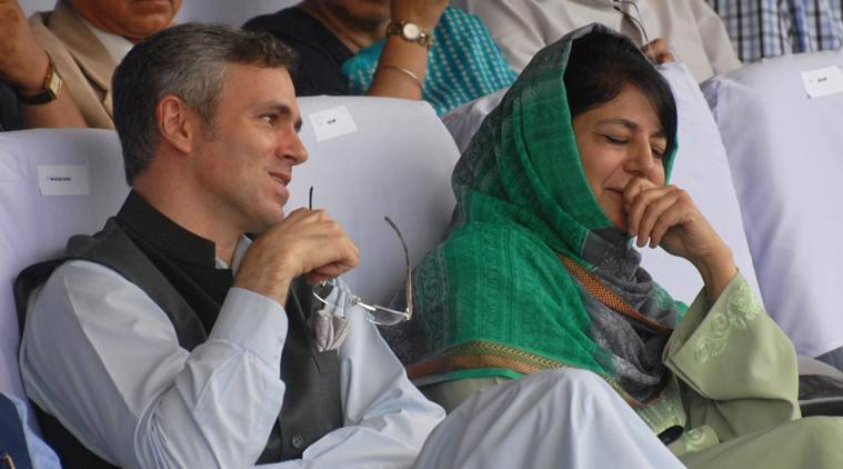 jammu and kashmir pdp national conference alliance between mehboob and omar abdullah