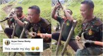 This video of men lip-syncing to Freddie Mercury's song using farm tools is winning hearts online