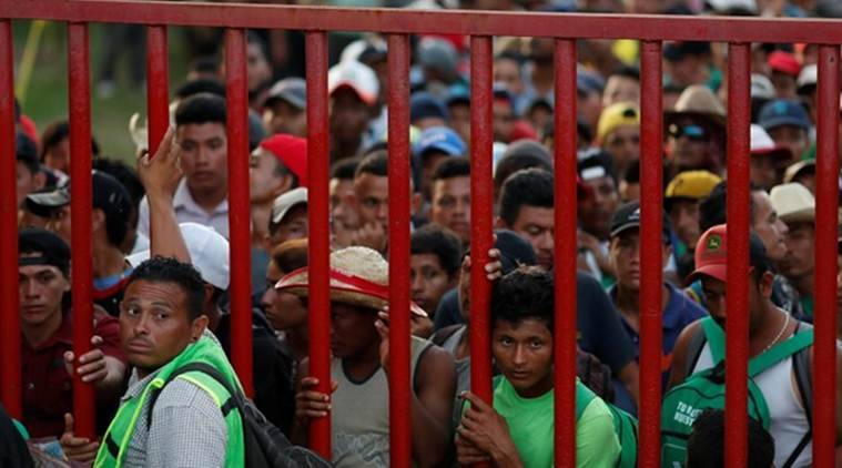 Around 4,000 Central American migrants prepare to depart Mexico City