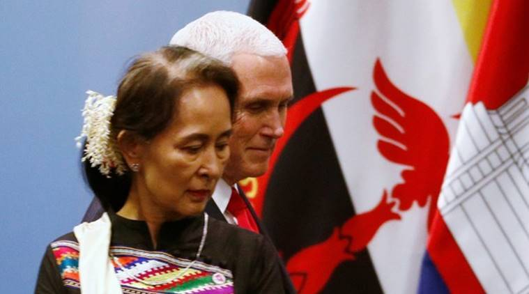 Rohingya crisis besieges Suu Kyi at Singapore summit