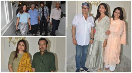 Mirzapur screening: Pankaj Tripathi, Ali Fazal, Richa Chadha and others watch Amazon Prime Video series