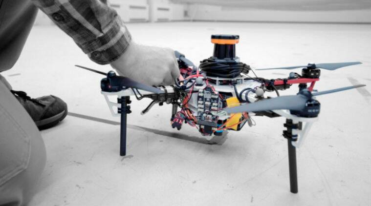 Autonomous drone, Massachusetts Institute of technology, wireless communications, MIT autonomous drone, GPS tracking, terrain 3D mapping, experimental robotics, drone mapping, MIT drone fleet