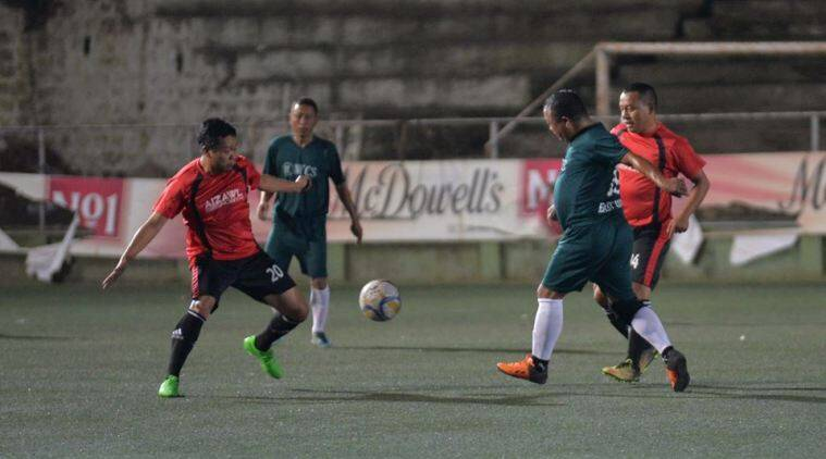 mizoram, veteran football league