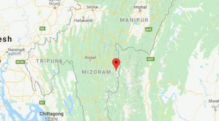Mizoram: Earthquake of magnitude 5.3 hits Champhai district