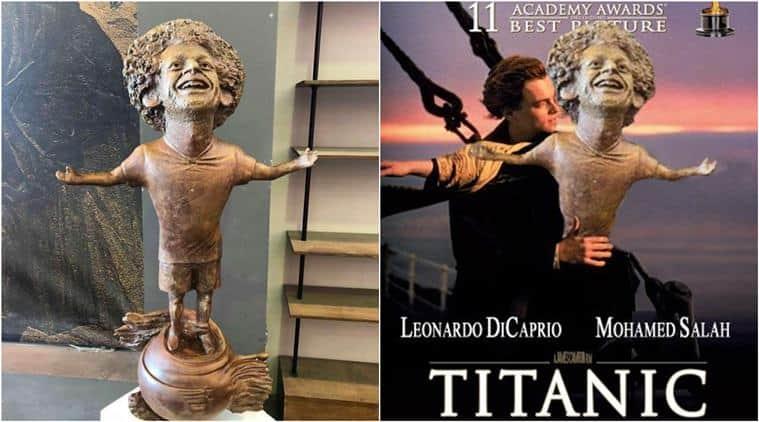 mo salah, mo salah bronze statue, mo salah statue, mo salah memes, mo salah joke, mo salah statue photoshop battle, fun news, weird news, football news, viral news