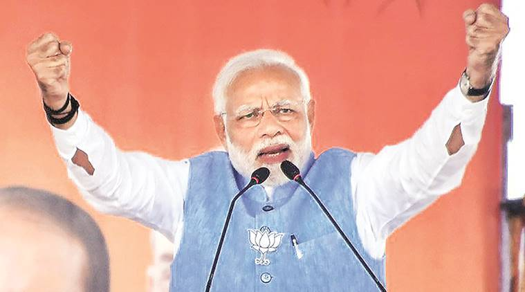 PM Modi: Congress in power during 26/11, but questions BJP govt's surgical strikes