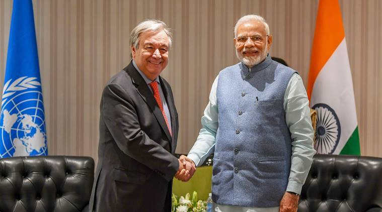 India to play responsible role at climate negotiations in Poland: PM Modi to UN chief