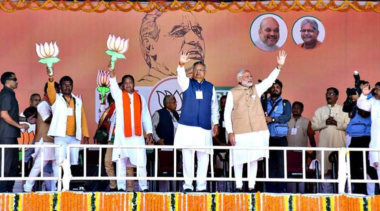 PM Modi on poll trail in Chhattisgarh: Congress shields urban Maoists who live in AC homes