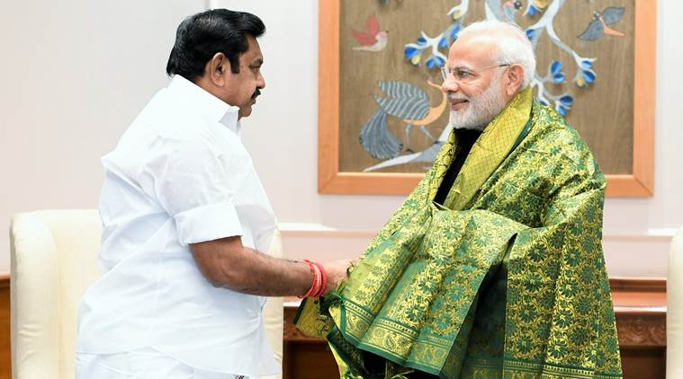 Cyclone Gaja: Palaniswami meets PM Modi, seeks  Rs 15,000-cr aide for relief, rehab