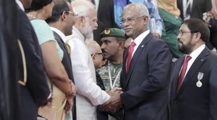 India to give all help to new Maldivian Govt: Narendra Modi assures PresidentSolih