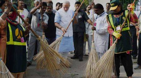 swachh bharat, swachh bharat kosh, swachh bharat funds, foreign funds, cleanliness campaign, prime minister narendra modi, indian express