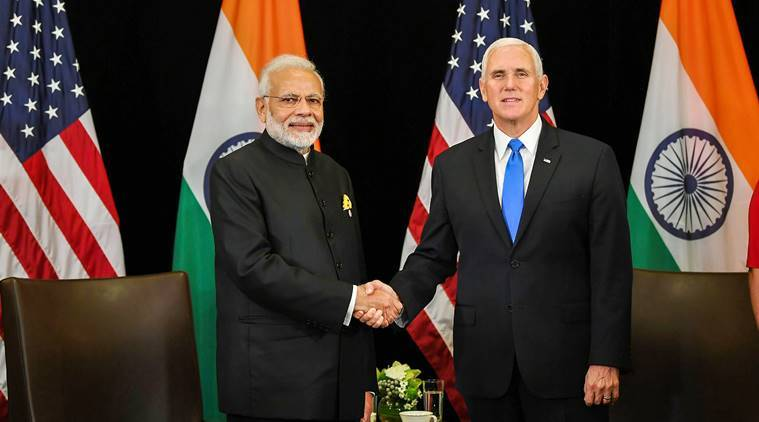 PM Modi raises Pakistan terror, India-US defence ties at talks with US V-P Mike Pence