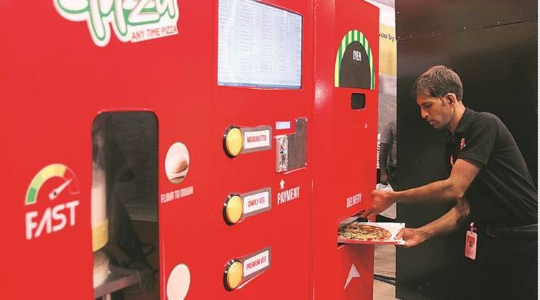 Mumbai Central Station: Craving for a freshly baked pizza? Hit the vending machine before boarding train