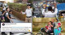 Mumbai Police steals the show with its entry to 'Thank U, Next' meme and Twitterati loved it